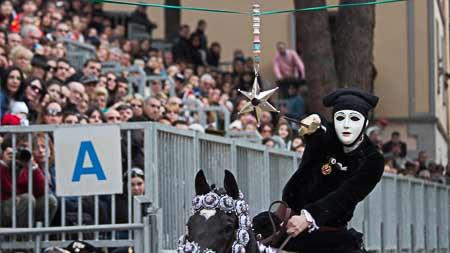 sa sartiglia festival