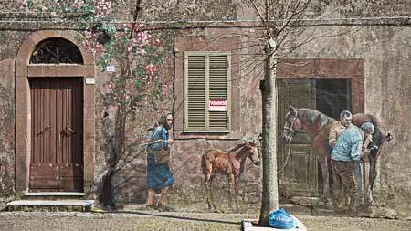sardinian murals