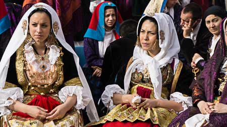 sardinian traditional costume