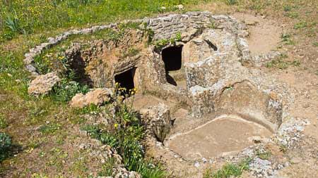 sardinian tombs