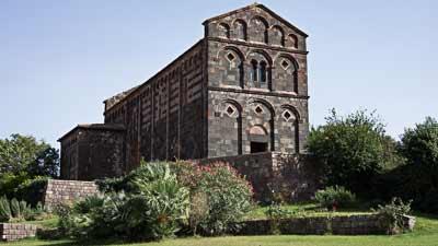 romanesque church in sardinia